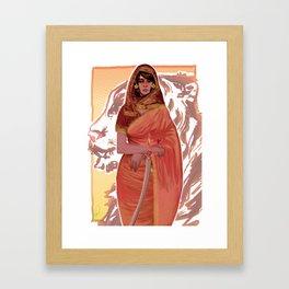 little red riding hood Framed Art Print