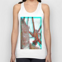 brussels Tank Tops featuring Atomium by Ganech joe