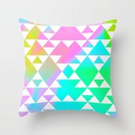 Tri Tribe II Throw Pillow