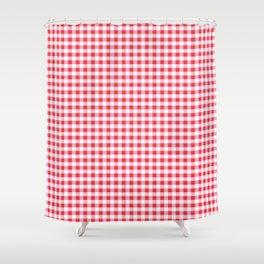 Vichy Karo  Shower Curtain