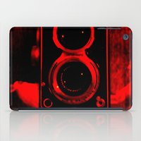 vintage camera iPad Cases featuring Camera by short stories gallery