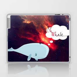 Oh Whale.. Laptop & iPad Skin
