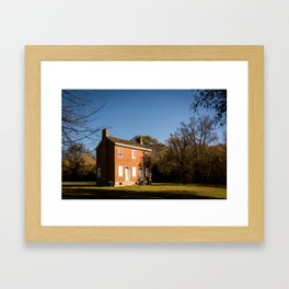 The Gordon House - Natchez Trace Framed Art Print