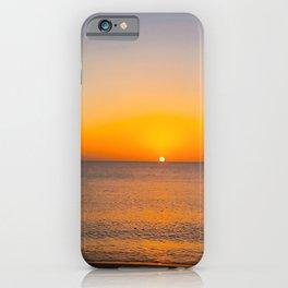 Saint Lucia Sunset on Sugar Beach iPhone Case