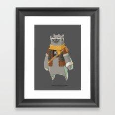 Timebear Framed Art Print