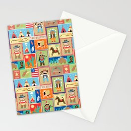 Wild West Stationery Cards