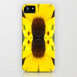 Trippy Sunflower iPhone Case