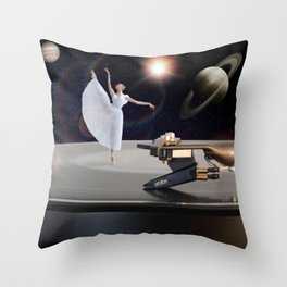 Prima Ballerina by GEN Z Throw Pillow