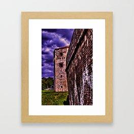 Tower Nebojsa Fortress Kalemegdan Belgrade Framed Art Print
