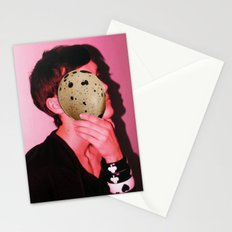 egg face Stationery Cards