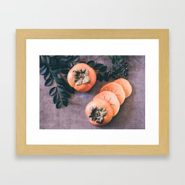 Persimmon 2 Framed Art Print