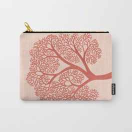 Corals in Copper Carry-All Pouch