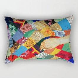 Square Story Rectangular Pillow