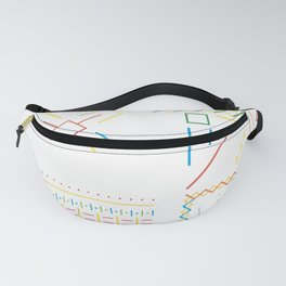 Star with DNA Fanny Pack