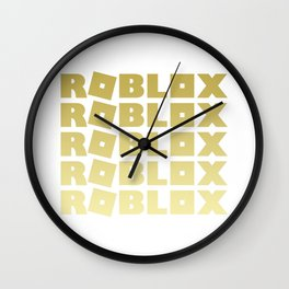 Roblox Gold Stack Adopt Me Wall Clock