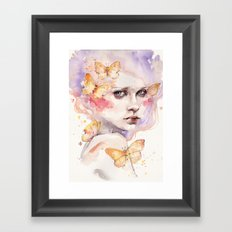 All A Flutter Framed Art Print