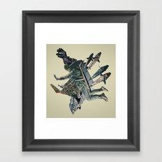 The Burden Framed Art Print