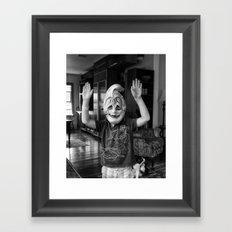 Boy From Venice No Framed Art Print