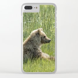 Unbearably Cute - Bear Cubs, No. 5 Clear iPhone Case