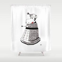 EXTERMINATE Shower Curtain