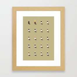 Sensible Swansea Framed Art Print