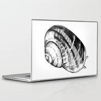 snail Laptop & iPad Skins featuring Snail by MARIA BOZINA - PRINT