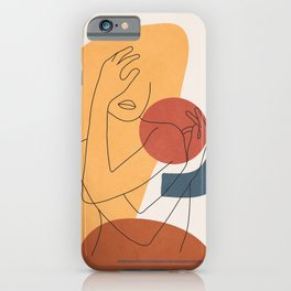 Colorful Movement II iPhone Case