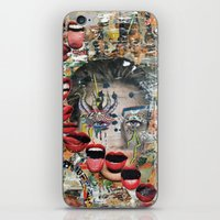 lip iPhone & iPod Skins featuring Lip Service by Katy Hirschfeld