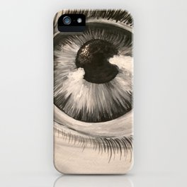 Eyeing the Future iPhone Case