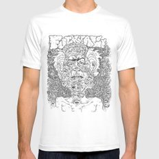 Fuck It All MEDIUM Mens Fitted Tee White