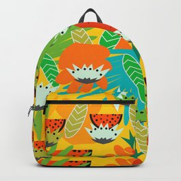 Watermelons and carrots Backpack