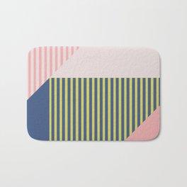 Color Blocking Minimal 1 Bath Mat