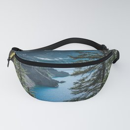 Blue Crater Lake Oregon in Summer Fanny Pack