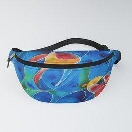 Koi Pond 2 - Liquid Fish Love Art Fanny Pack