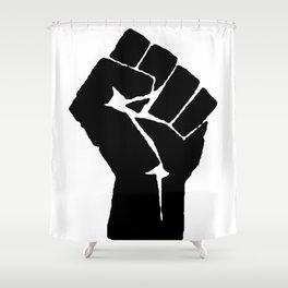 BLM Fist Shower Curtain