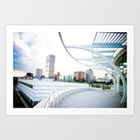 milwaukee Art Prints featuring Milwaukee by Andrea Coan