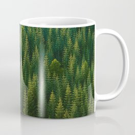 The Green Forest (Color) Coffee Mug