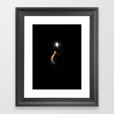 One night, one light Framed Art Print