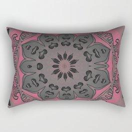 Gentleness and Resolve Mandala Rectangular Pillow