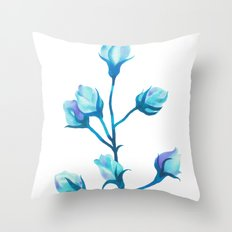 Baby Blue #2 Throw Pillow