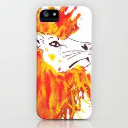 Lion Hair iPhone Case