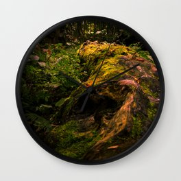 Fallen Log Wall Clock