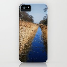 Holme Fen Dyke iPhone Case