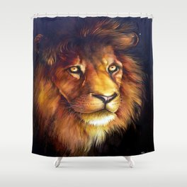 king's Shower Curtain