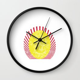 May lord Ganesh destroy all your worry and tension Wall Clock