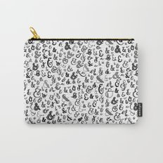 letter X - ampersands Carry-All Pouch