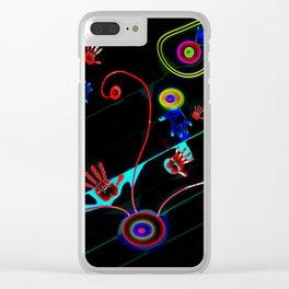 Cueva de las Manos II Clear iPhone Case