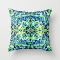 GRASS GODDESS Throw Pillow