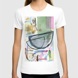 Abstract watercolor still life #1 T-shirt