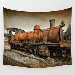 End of the Line Wall Tapestry